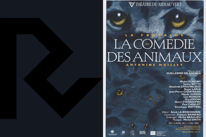 La Fontaine <small>ou </small>La Comédie des animaux
